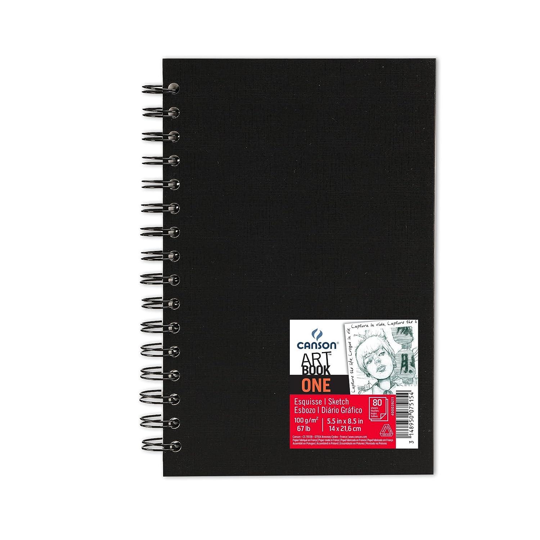 Canson 400039211 - Papel de dibujo (100 gsm), color negro