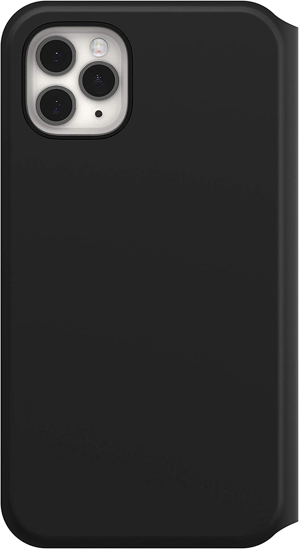 Negra Funda de protecci/ón con Tapa Folio para Samsung Galaxy S20 Otterbox Strada Via
