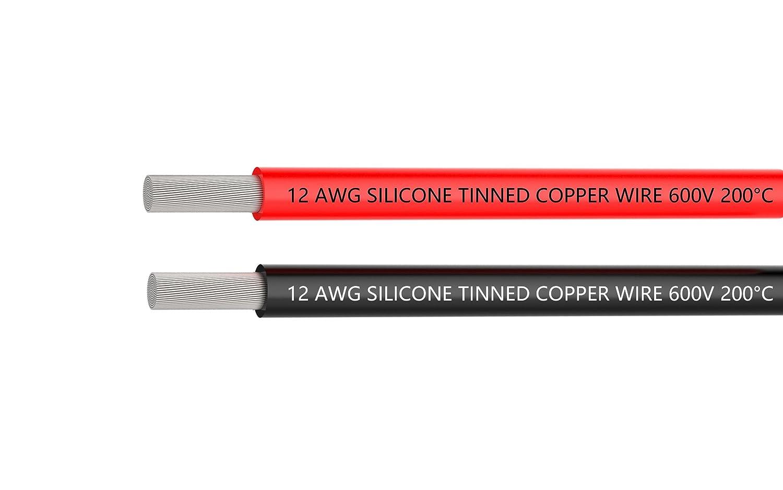 Elektrischer Draht 12 AWG 12 Gauge Silikon Wire Hook Up Draht ...