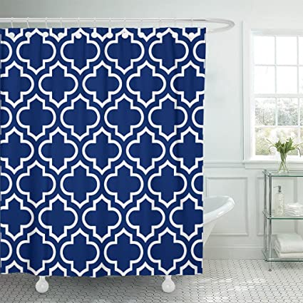 Amazoncom Accrocn Waterproof Shower Curtain Curtains Fabric Royal
