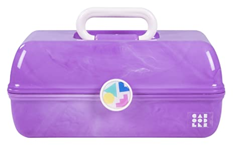 Amazon.com: Caboodles On-the-Go - Funda de mármol morado ...
