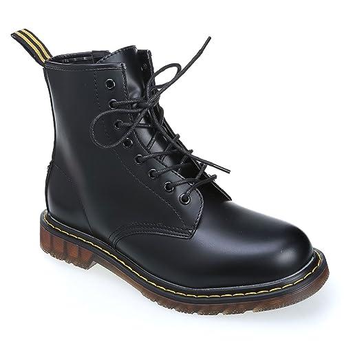 MForshop scarpe uomo scarponcino anfibi stivaletti lacci stringati moda  8830-099 (40 5f1ac350570