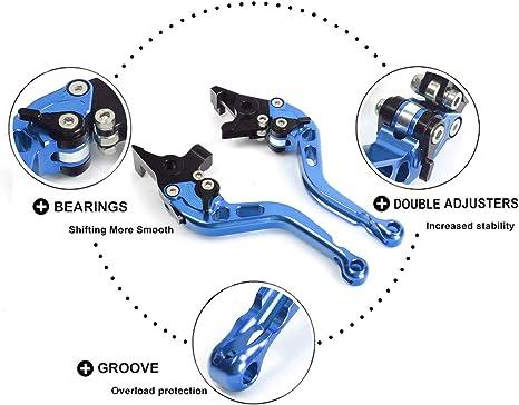 TARAZON CNC Adjustable Brake Clutch levers for KTM 1190 RC8 RC8R RC8 R 2009-2016//1290 Super DUKE R 2014-2017