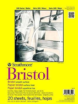 Strathmore Bristol Smooth Paper Pad