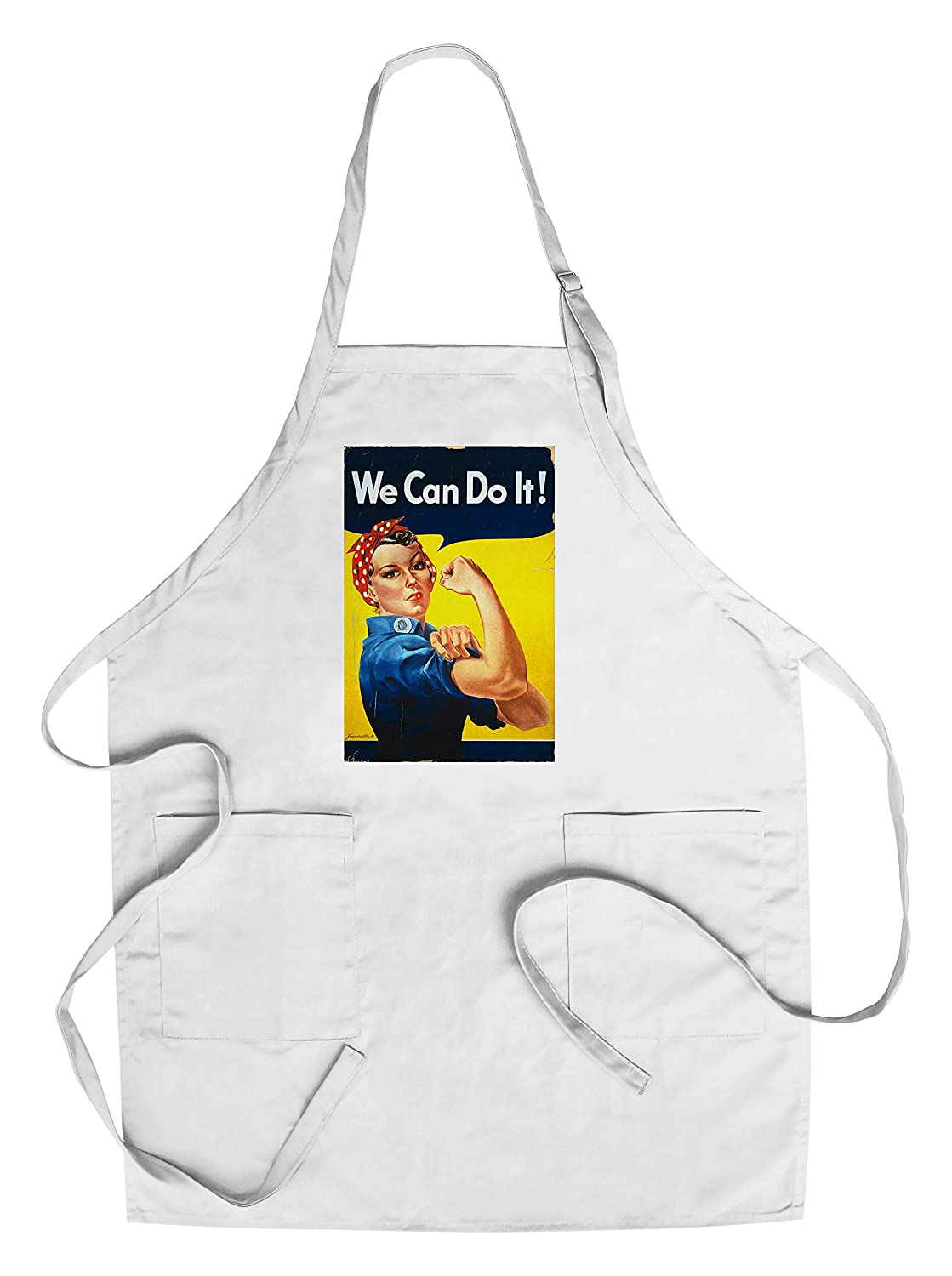 【70%OFF】 (Canvas Tote Apron Bag) - Rosie Chef's the Riveter - (Canvas We Can Do It - Poster (100% Cotton Tote Bag - Reusable) B018NO93P2 Chef's Apron Chef's Apron, MATFER shop:0910e42c --- arianechie.dominiotemporario.com