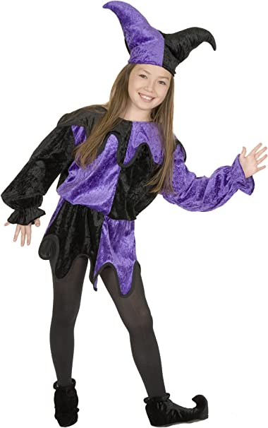 Amazon.com: Jester disfraz (Niña s disfraz infantil): Toys ...