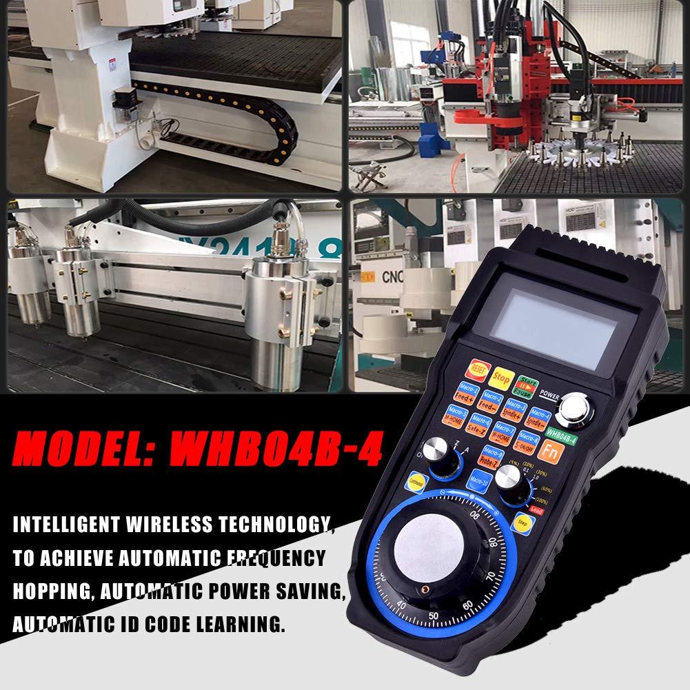 CNC-Handrad drahtloses elektronisches Handrad 4-Achsen-Steuerung manueller Impulsgenerator MPG f/ür CNC MACH3