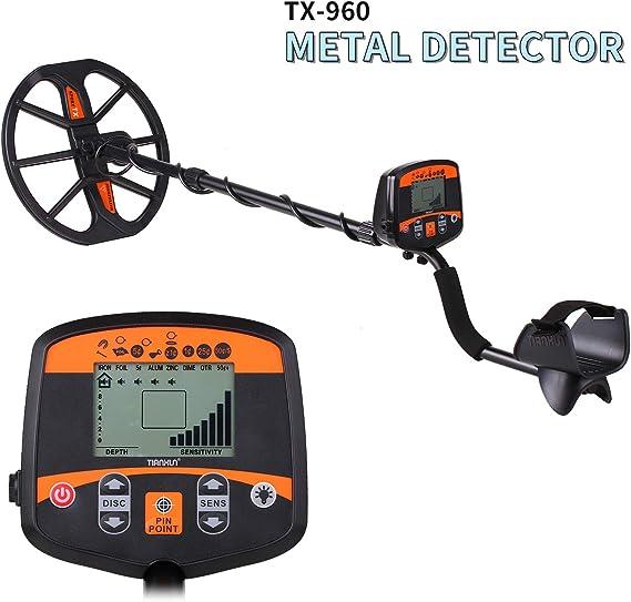 KKmoon TX-960 - Detector de metales impermeables: Amazon.es: Bricolaje y herramientas