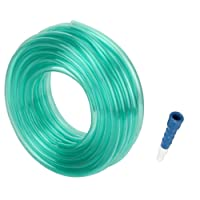 Truphe Garden Pipe, Garden Hose Water Pipe, PVC Pipe - 0.5 Inch / 30 Meters With Hose Connector