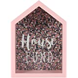 Something Different Wholesale  Florella House Fund Ornament, Pink