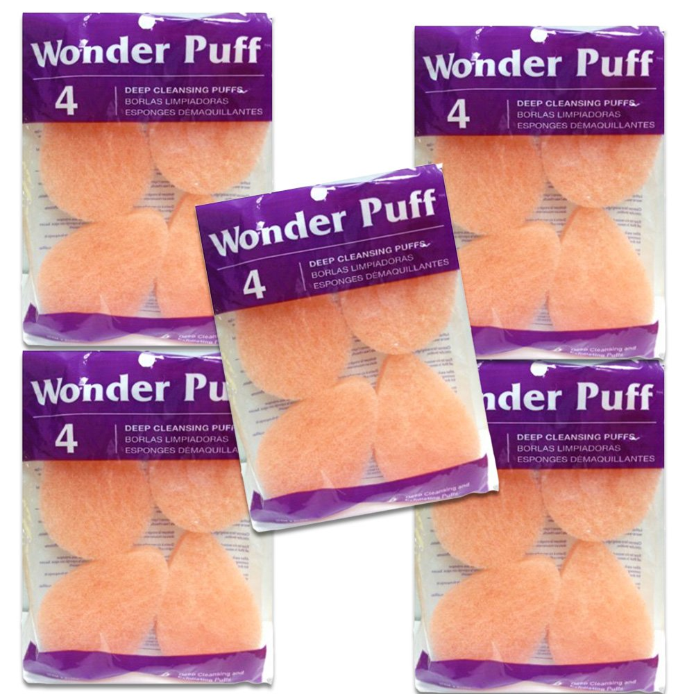 Wonder Puff Value Pack -- 20 Pack, Deep Cleansing Puffs (20 Count)