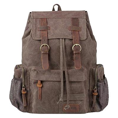 Canvas Vintage Backpack