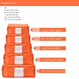 VEAMOR Quilt Storage Bags Pillow Beddings Room
