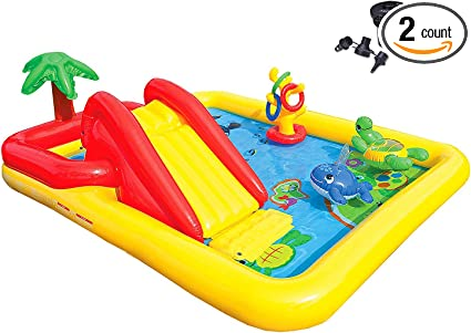 Amazon.com: Intex Océano Play Center Kids wading inflable ...