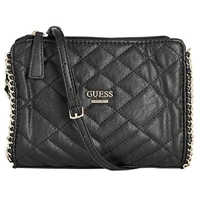 Guess Small Cross Body Bag Lucie HWVG5045690 Black: Amazon