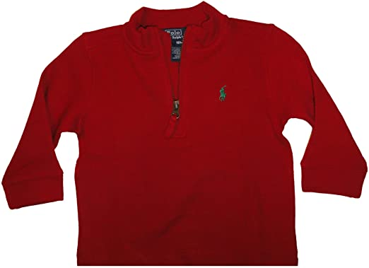 Amazon.com: Polo by Ralph Lauren Infant Boy's Long Sleeved Sweater ...
