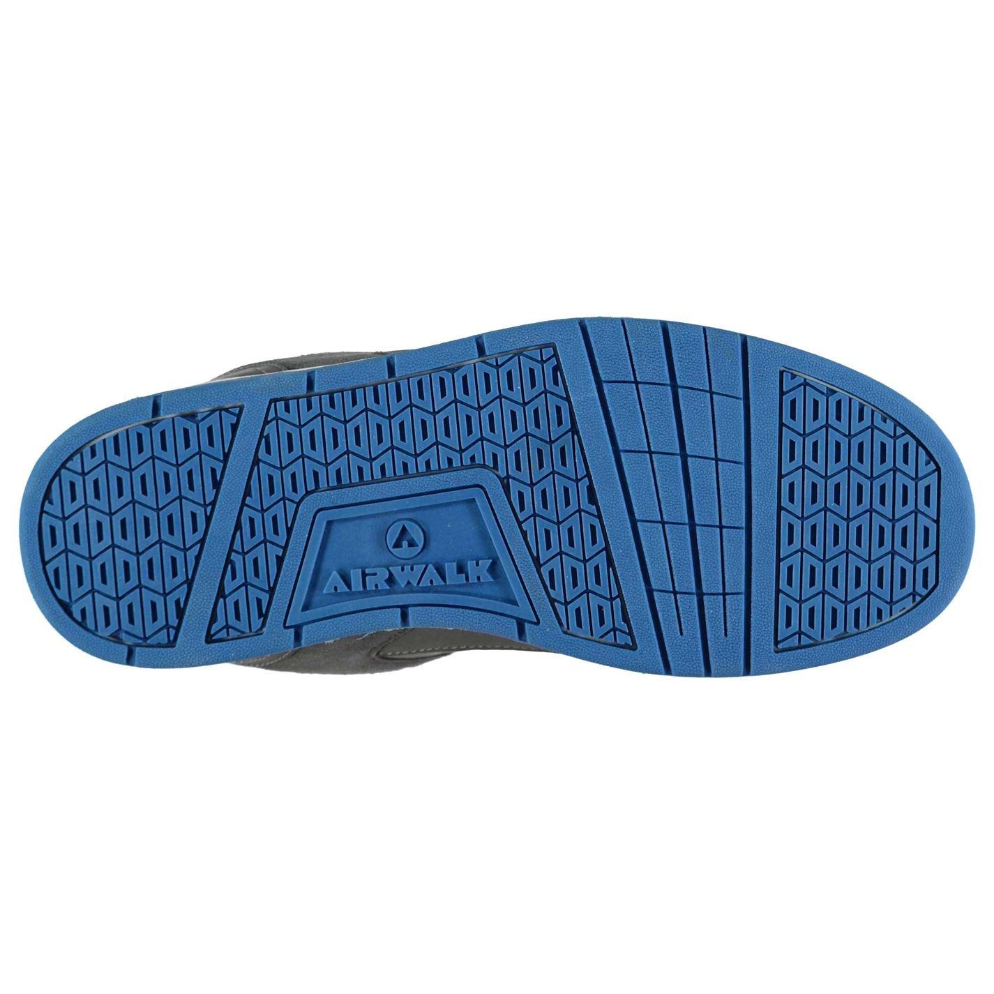 Airwalk Herren Throttle SN CL82 Skate Sportschuhe Grau/Blau 41 jAyfhsHVH