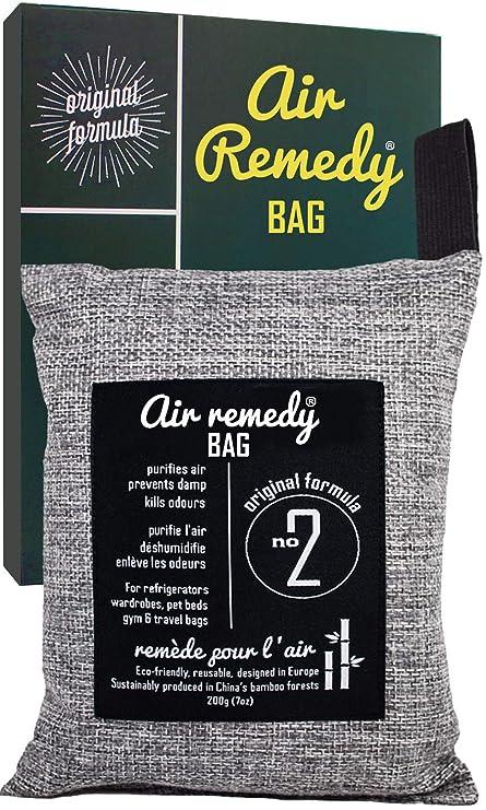 Carbon activado - 200g -, Ambientadores naturales et Neutralizador de olores, Bolsas antihumedad, Deshumidificador armarios, Desodorante calzado, ...