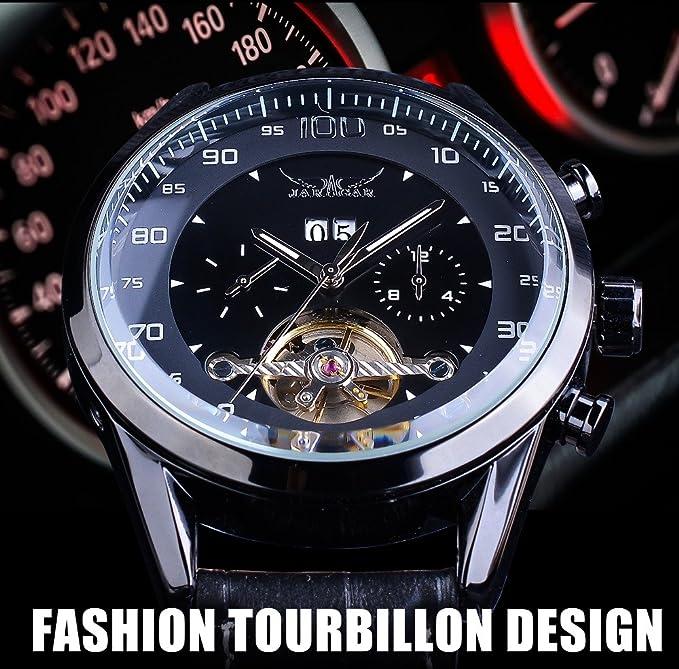 Woche Monat Toubillion Display Design Sport Jaragar Uhren Kalender doxCBre