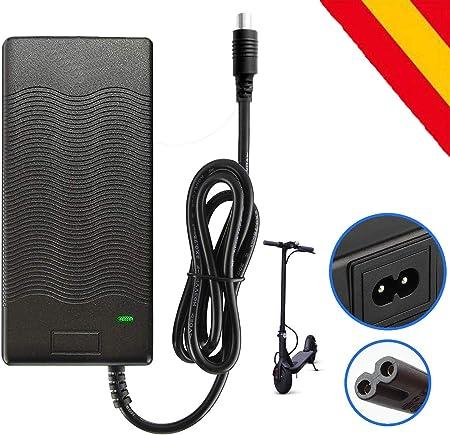 Oferta amazon: HORO.ES Cargador de Batería de Litio 42V 2A Compatible con Patinete Xiaomi Scooter M365 Ninebot ES1/ES2