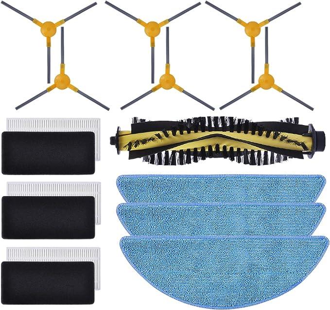 iAmoy vervangende zijborstel reserveonderdelen compatibel