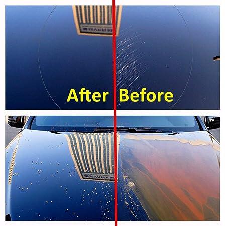 Funnyrunstore Automobile Ceramic/Glass Nano Hydrofobic Coating Tratamiento a prueba de lluvia para el mantenimiento del vidrio y el parabrisas del automóvil ...