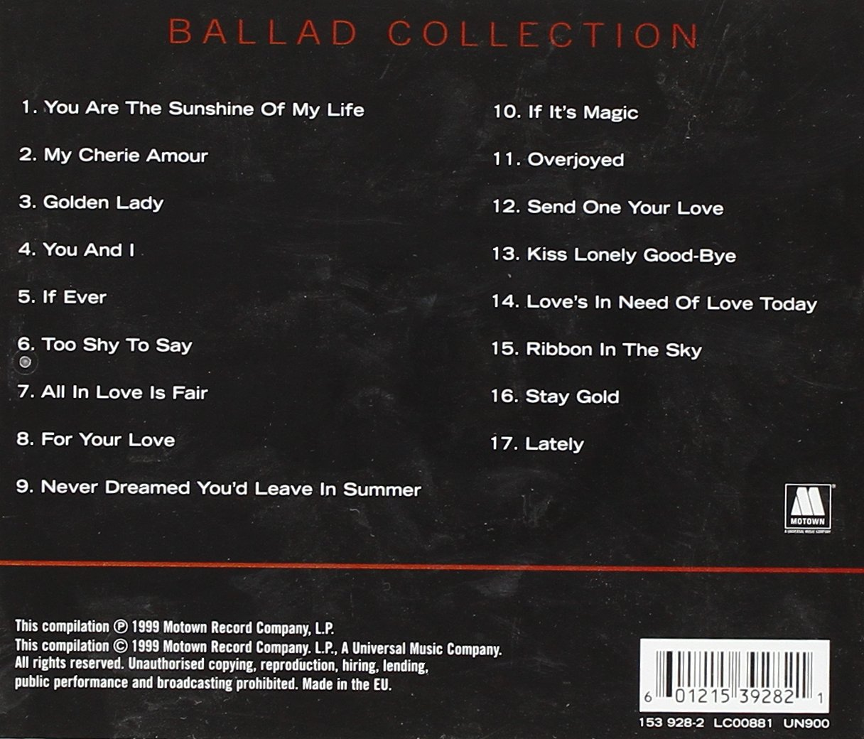 Ballad Collection by Universal Int'L