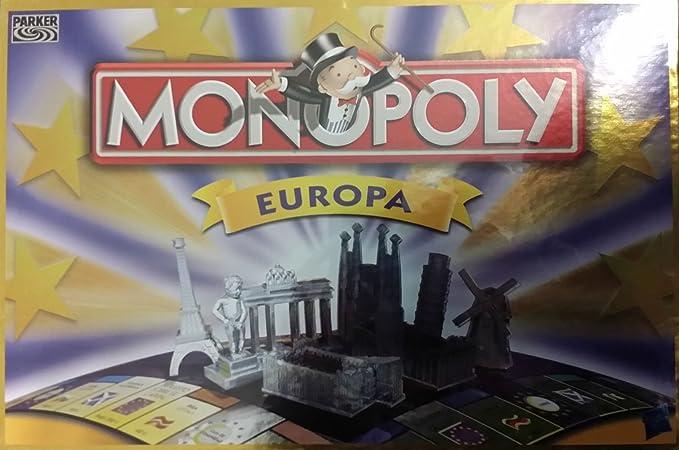 Monopoly - Europe [Versión Española]: Amazon.es: Juguetes y juegos