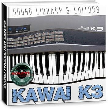 KAWAI K3 - Enorme fábrica original y nueva biblioteca de ...