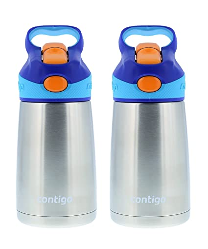 Amazon.com: 10oz Contigo Autospout Striker Kids Botella de ...