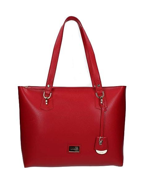 c2edf64fd7 liu jo- borsa spalla donna rossa: Amazon.it: Scarpe e borse
