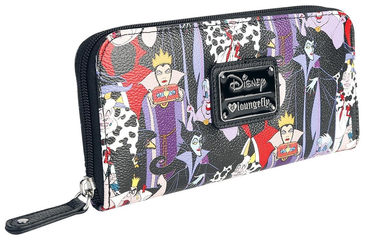 Disney Villains Zip Around Wallet Standard