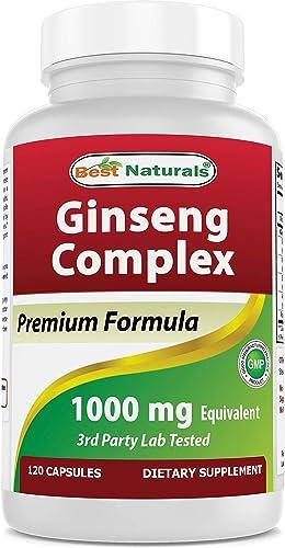 Best Naturals Ginseng complex 1000 mg
