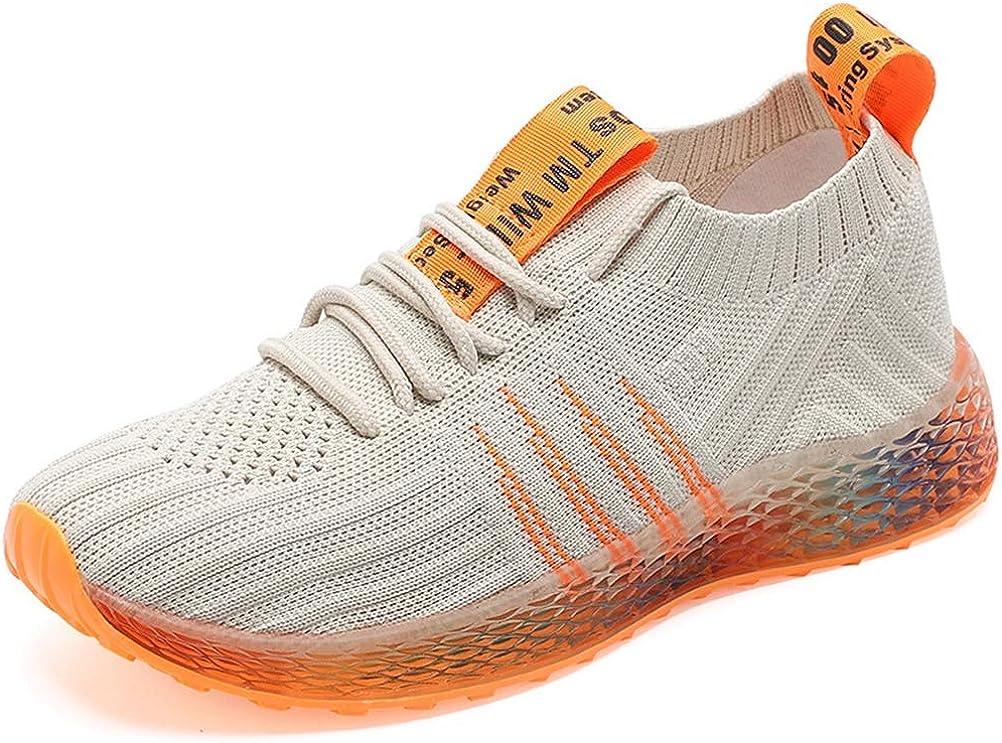 Zapatillas de Deporte cómodas con Cordones de Las Mujeres Casual Trend Mix Colors Mesh Running Shoes para Correr Fitness: Amazon.es: Zapatos y complementos