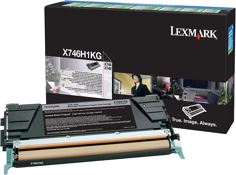 Amazon.com: Lexmark lexx746h1kg Toner Cartridge Black Laser ...