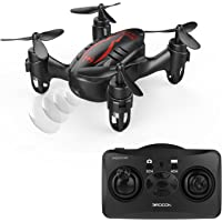 Drocon Hacker RC Quadcopter Micro Mini Drone with 720P HD Camera (Black)