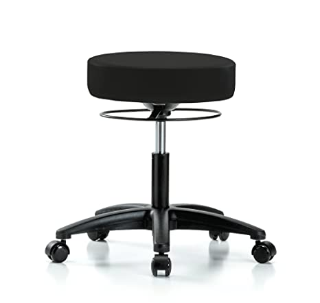 Astounding Amazon Com Perch Stella Rolling Height Adjustable Salon Inzonedesignstudio Interior Chair Design Inzonedesignstudiocom