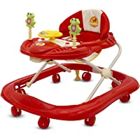 Baybee Smartwitty Stylish Baby Walker (Red)