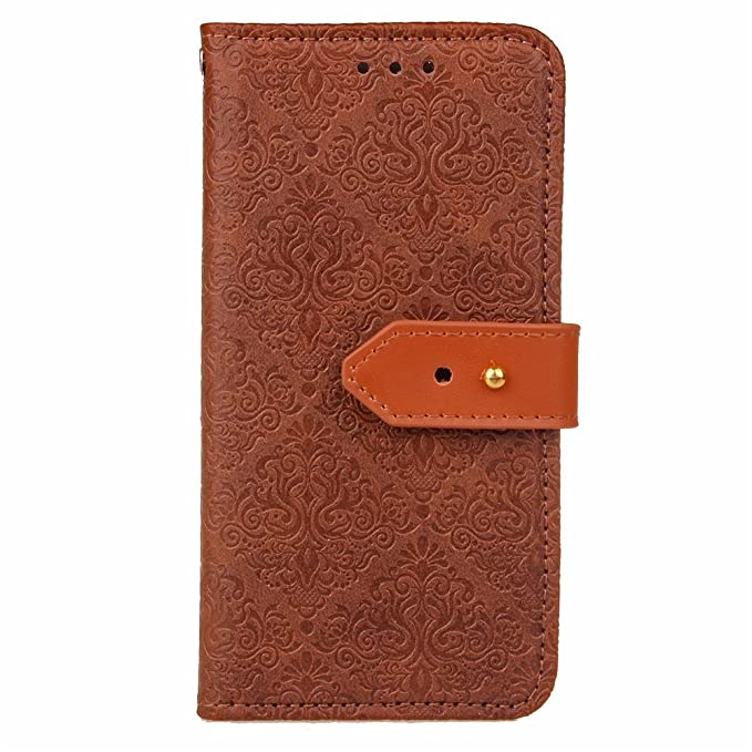 Samsung Galaxy A5 2017 Case A5 2017 Case EMAXELER European Embossing Stylish Wallet Case Kickstand Credit Cards Slot Cash Pockets PU Leather Flip For ...