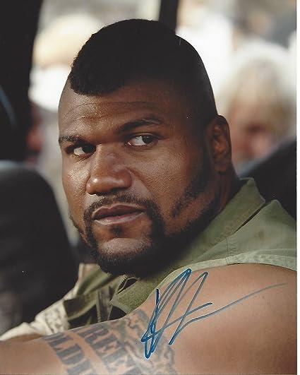 Autographs-original Rampage Jackson W/ Coa Signed 8x10 Autograph Ufc