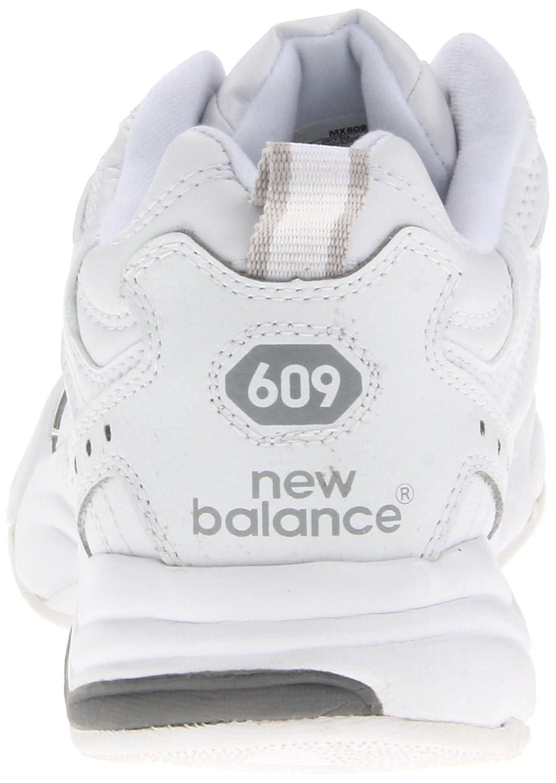 nouveau concept 61bd4 f1b6f Amazon.com | NEW BALANCE Men's M 609 (White/Navy 9.0 B) | Shoes