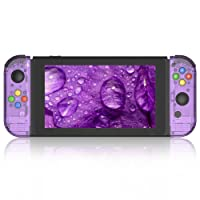 Myriann Portable Replacement Shell Case for Nintendo Switch and Joy-Con, The Skin Perfectly Fits The Nintendo Switch Joy-Con Controller Keeping All The Buttons, Triggers and Thumb Sticks Accessible