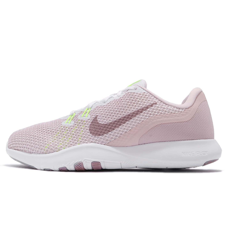 Nike Women's Flex Trainer 5 Shoe B071ZFVX6C 7 B(M) US|White/Elemental Rose/Barely Rose