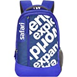 SAFARI 23.5 Ltrs Blue Casual Backpack (JOURNEY19CBBLU)