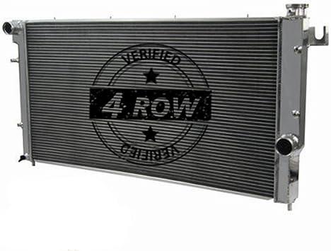 Quad Cab 5.9L Turbo Diesel Engine Primecooling 4 Row Aluminum Radiator for 1994-02 Dodge Ram 2500 3500