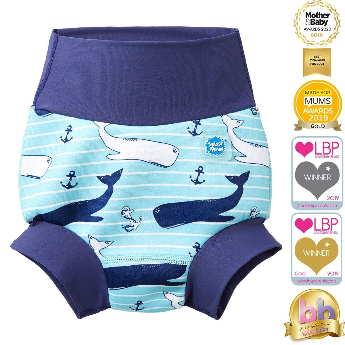 Splash About Pa/ñal de Ba/ño Reutilizable-Under The Sea 2-3 a/ños Unisex-Baby