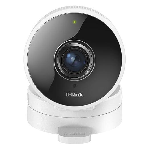 D-Link DCS-8100LH - Cámara IP WiFi con Acceso Desde móviles, visión 180°, grabación en la Nube y en el móvil, HD 720p, visión Nocturna, Ranura ...