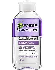 Garnier Skin Active Desmaquillante de Ojos 2 en 1 Desmaquillador suave Bifásico enriquecido con Arginina - 125 ml