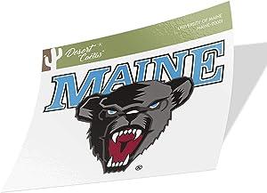 University of Maine UMaine Black Bears NCAA Vinyl Decal Laptop Water Bottle Car Scrapbook (Sticker - 00001)