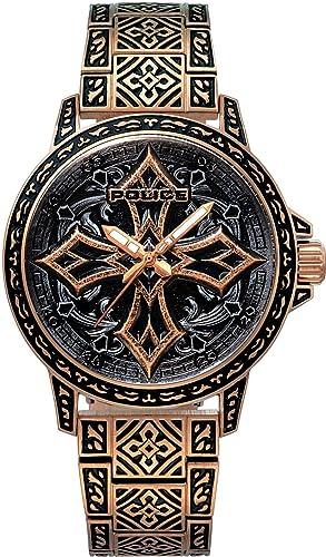 Police Watch Cross 2 PL15530JSR.78M Reloj de Pulsera para Hombres: Amazon.es: Relojes